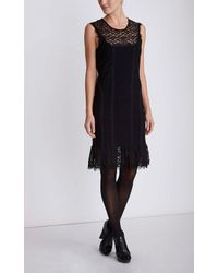 Nanette Lepore | Black Olivia Lace Dress | Lyst