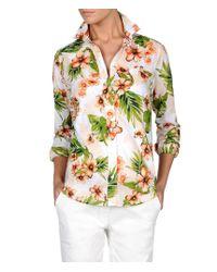 Napapijri   Green Long Sleeve Shirt   Lyst