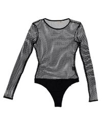 Nasty Gal - Black Catch 'em Off Guard Fishnet Bodysuit Catch 'em Off Guard Fishnet Bodysuit - Lyst
