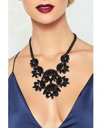 Nasty Gal | Black Dance The Night Away Rhinestone Necklace Dance The Night Away Rhinestone Necklace | Lyst