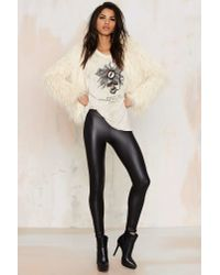 Nasty Gal | Black Real Slick Coated Leggings | Lyst