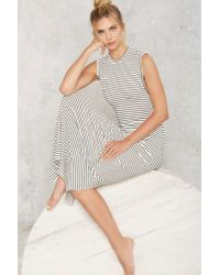 Nasty Gal - Multicolor Line Of Work Maxi Dress - White - Lyst