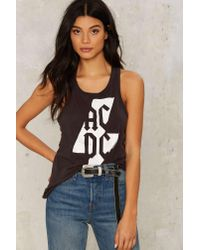 Chaser Gray Acdc Bolt Tank