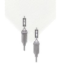 Nasty Gal - Black Over The Love Deco Earrings Over The Love Deco Earrings - Lyst
