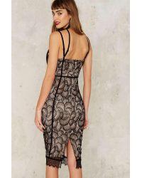 Nasty Gal | Black Dirty Love Lace Dress | Lyst