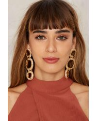 Nasty Gal | Multicolor Third Time's A Charm Drop Earrings | Lyst