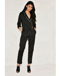 Nasty Gal Black Daria Pajama Jumpsuit Daria Pajama Jumpsuit