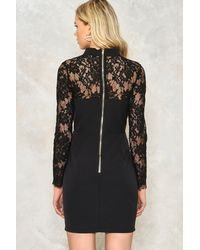 Nasty Gal Black Lace Is More Bodycon Dress