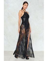 Nasty Gal - Multicolor Sequin Maxi Dress Sequin Maxi Dress - Lyst