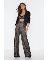 """Nasty Gal Black """"pick Up The Lace Bra Top"""""""