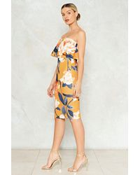 Nasty Gal Multicolor Let Me Give It A Go Floral Dress Let Me Give It A Go Floral Dress