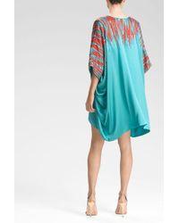 Natori - Blue Josie Couture Ikat Caftan - Lyst
