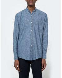 Our Legacy   Blue 40's Chambray for Men   Lyst