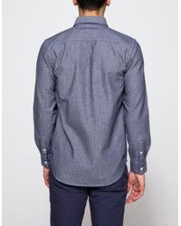 Saturdays NYC - Blue Javas Marled for Men - Lyst