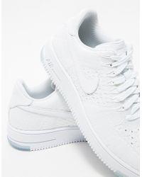 Nike - Flyknit Low In White - Lyst