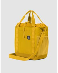 Herschel Supply Co. Yellow Trail Barnes Tote Bag for men