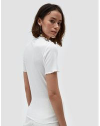 Which We Want - Gwen Tee In Off White - Lyst