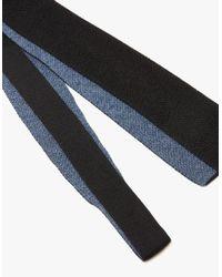 Margaret Howell - Black Double Face Tie for Men - Lyst
