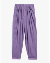 Baserange - Isha Pants In Purple - Lyst