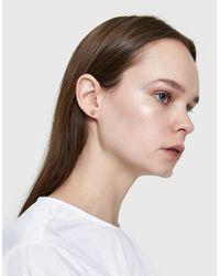Kathleen Whitaker - Metallic Single Sphere Stud Earring - Lyst