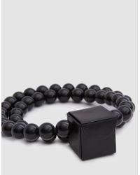 Building Block - Black Mini Cube Sling - Lyst