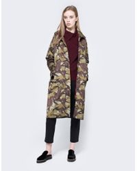 Ganni - Multicolor Greenwood Raincoat - Lyst