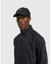 Larose Paris - L Hand Logo Baseball Cap In Black for Men - Lyst