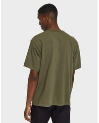 (w)taps - Green Design Ss Pocket Tee In Olive Drab for Men - Lyst
