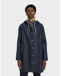 Stutterheim Blue Mosebacke Rain Jacket