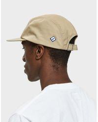 Larose Paris - Brown Water Repellent 5-panel Cap In Tan for Men - Lyst