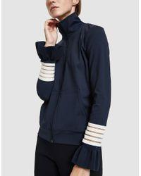 Ganni - Blue Presbourg Jacket - Lyst