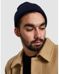Norse Projects - Gray Norse Beanie for Men - Lyst