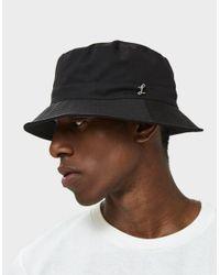 Larose Paris - Water Repellent Bucket Hat In Black for Men - Lyst