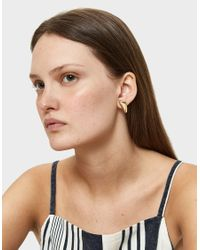 Faris - Metallic Single Cap Earring - Lyst