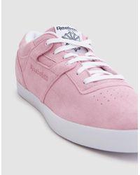 Reebok - Pink Workout Clean Fvs Billys for Men - Lyst