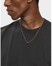 Undercover - Metallic Knife Necklace In Gold - Lyst