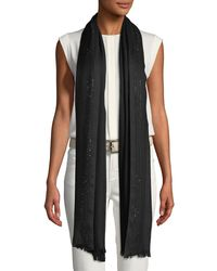 Loro Piana - Multicolor Aria Crystal-embellished Soffio Stole - Lyst