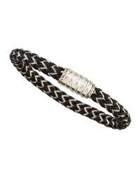 John Hardy | Black Bedeg Men's Nylon Cord Bracelet | Lyst