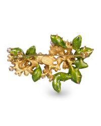Jay Strongwater - Multicolor Floral Cluster Pin - Lyst