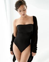 Wacoal | Black B-smooth Strapless Bodysuit | Lyst