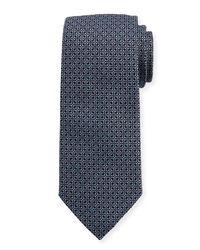 Eton of Sweden - Blue Woven Dotted Fancy Box Silk Tie for Men - Lyst
