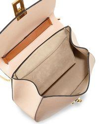 Chloé - Brown Drew Mini Color-Blocked Shoulder Bag - Lyst