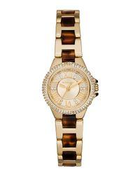 Michael Kors - Metallic 26mm Petite Camille Glitz Watch - Lyst