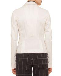Akris Punto - Natural Two-button Flap-pocket Blazer - Lyst
