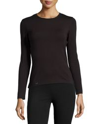 La Perla | Black New Project Long-sleeve Lounge Top | Lyst