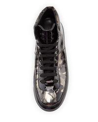 Jimmy Choo - Black 'portman Paillettes' Sneaker for Men - Lyst