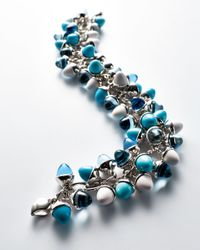 Tamara Comolli - Blue Mikado Flamenco Breeze Cabochon Bracelet - Lyst