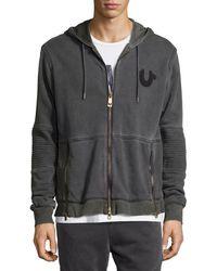 True Religion Gray Sweatshirt for men