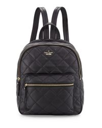 Kate Spade | Black Emerson Place Ginnie Backpack | Lyst