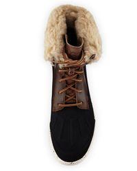 Ugg | Brown Men's Roskoe Duck Boot for Men | Lyst